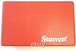 1-9/16 3909a Starrett Dial Test Indicator 0.005/0.030 #12527 -new-