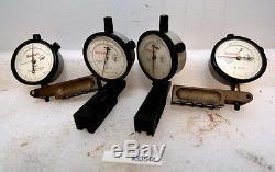 1 lot of Four Starrett 25-511 dial indicators (Inv. 33544)