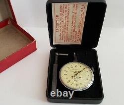 1915-1935 Antique H. A. Lowe Starrett Last Word Dial Indicator No D-10-2.0001