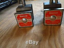 2 STARRETT 657 MAGNETIC BASE FOR DIAL INDICATOR and 2 similar items