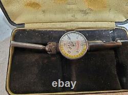 (2) STARRETT LAST WORD DIAL INDICATORS NO 711 (2) GEM & (1) Craftsman Indicators
