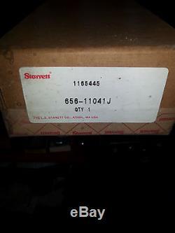 656-11041J L. S. STARRETT dial indicator extra long range 0-11 edp 53808 agd 4