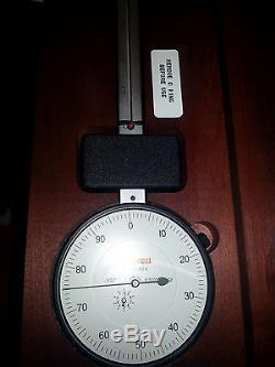 656-8041J L. S. STARRETT dial indicator extra long range 0-8 edp 53805 agd 4