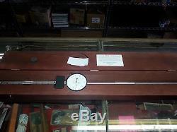 656-9041J L. S. STARRETT dial indicator extra long range 0-9 edp 53806 agd 4
