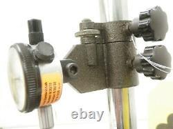 6x6x2 Granite Stand Surface Plate & Starrett 81-138 Dial Indicator