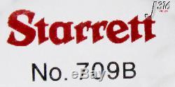 8919 Starrett Dial Indicator Red Face No. 709b