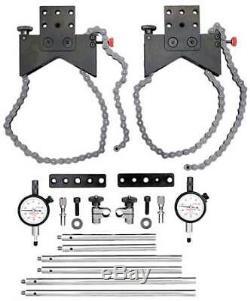 Alignment Clamp Set with2ZUH4 Indicator STARRETT S668DZ