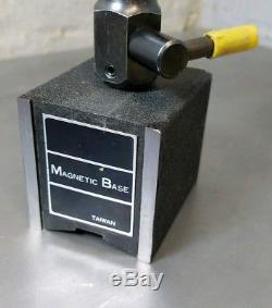 Ames 1 dial indicator Starrett Flex-O-Post magnetic base