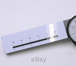 B. C. Ames 4215 Dial Indicator 0-5 Range. 001 Grad Compare Starrett 656-504