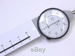 B. C. Ames 4215 Dial Indicator 0-5 Range. 001 Grad Compare starrett 656-5041