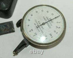B Vintage H. A. LOWE STARRETT LAST WORD DIAL INDICATOR Model. D-10-2
