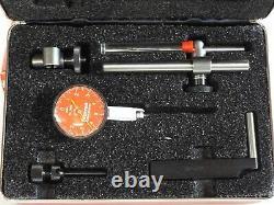Brand New Starrett Dial Indicator Set, 0.010 Range. 0001 Resolution, R708ACZ