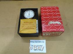 C347 Starrett 196B1 Universal Back Plunger Dial Indicator. 001 Grad 0.100 Dial