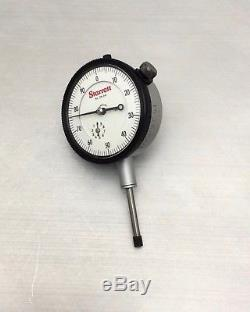 CALIBRATED Starrett 25-441 Jeweled Dial Indicator 001 01 AGD2 DEAD ACCURATE