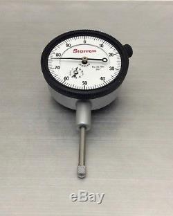 CALIBRTD Starrett 25-441 Jewld Dial Indicator 001 01 AGD2 BETTER ACCURACY NEW