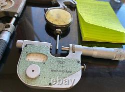 CNC TOOLS LOT 5 Mitutoyo ETALON STARRETT VIN AMES Dial Indicator No. 64 Vintage