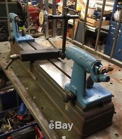 Delta Milwaukee 18 Bench Center With Starrett Dial Indicator Machinist Tool
