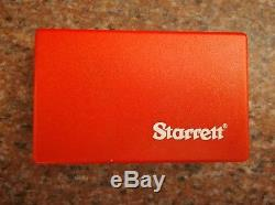 Dial Test Indicator Starrett #3809a