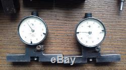 Dial indicator lot vintage Mahr Federal Starrett Mitutoyo