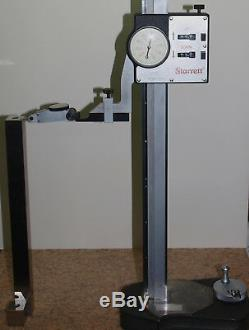EXCELLENT 24 STARRETT 259 DIAL HEIGHT GAGE with BESTEST INDICATOR