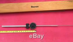 EXCELLENT Starrett Dial Indicator 12 Inch Range W 3.5 DIA FACE Model 656-12041