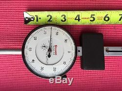 EXCELLENT Starrett Dial Indicator 6 Inch Range With 3.5 DIA FACE Model 656-6041