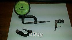 Federal C6K Dial Indicator and Starrett 670A, 670B, & 671 Indicator Attachments