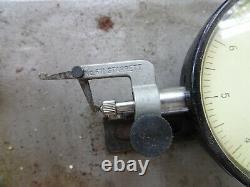 Hamilton Watch Company Model 3150-01 Starrett No. 671 Dial Indicator Heavy Base