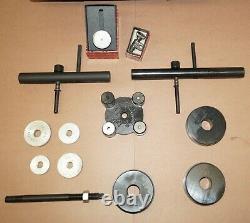 Kent-Moore J-21777-B Pinion Setting Gauge & Starrett Dial Indicator