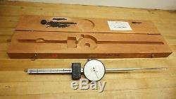 L. S. STARRETT #656 Dial Indicator Extra Long Range 0-6