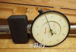 L. S. STARRETT #656 Dial Indicator Extra Long Range 0-8