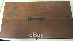 L. S. STARRETT Co. No. 657 Magnetic Base Boxed Set with No 25-131 Dial Indicator
