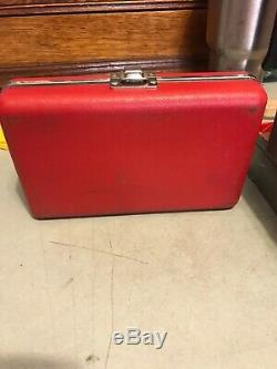 L. S. Starrett 196A Dial Test Indicator Universal Back Plunger with case USA