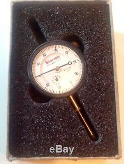 L. S. Starrett Model No. 25-441J Dial Indicator 1.000 Range in Original Box