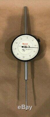 L. S. Starrett No. 656-3041 Dial Indicator 3 Range. 001 Res 3 1/2 Face