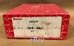L. S. Starrett No. 656 Dial Indicator. 100 Range. 0005 Res 3.5 Face 656-138