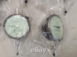 Lot of Dial Indicators, recently refurbished. Federal, Starrett, CDI, and SPI