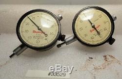 Lot of Two Starrett Dial Indicators No. 25-141 (Inv. 33529)