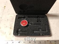MACHINIST TOOL LATHE MILL Machinist Starrett Red Face Dial Indicator 708 A ShE