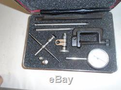 MACHINIST TOOLS LATHE MILL Machinist Starrett # 196 Dial Indicator Set CLEAN