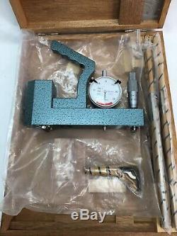 MITUTOYO STARRETT PRECISION TOOL KIT 3mm MICROMETER INDICATOR DIAL CALIPER JAPAN