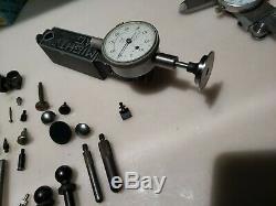 Machinist Tool Lot Dial Indicator Accessories Mitutoyo Starrett B&S Interapid