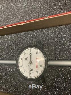 Mint STARRETT DIAL INDICATOR MODEL 25-5041J SIZE 0-5 X. 001 Machinist Test