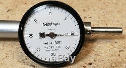 Mitutoyo precision tool kit 1 micrometer, indicator, dial caliper, 6 scale