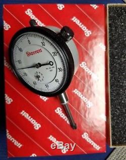 NEW STARRETT 25-441P Dial Indicator 53296