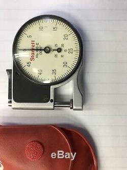 NEW Starrett #1010e Dial Indicator Pocket Gauge