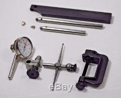 NEW Starrett 196A6Z Universal Dial Test Indicator Antimagnetic Back Plunger