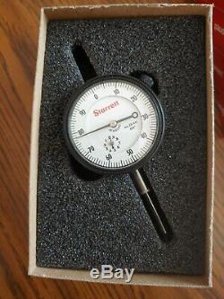 NEW Starrett 25-441J Dial Indicator 1.000 Range, 0.001 Graduation