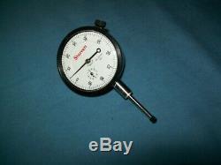 NEW Starrett 25-441J WCSC 0.375 Stem Diameter Dial Indicator 0 1 Range UNuse