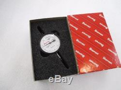NEW Starrett Dial Indicator 25-511J, 0 to 0.200 Inch, AGD 2, 2.25 Dial, 25-511